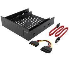 """Akasa adaptér pro 3,5"""" HDD do 5,25"""" vč. kabelů (AK-HDA-12)"""