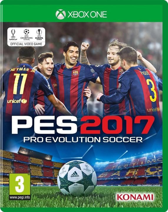 Pro Evolution Soccer 2017 (Xbox ONE)
