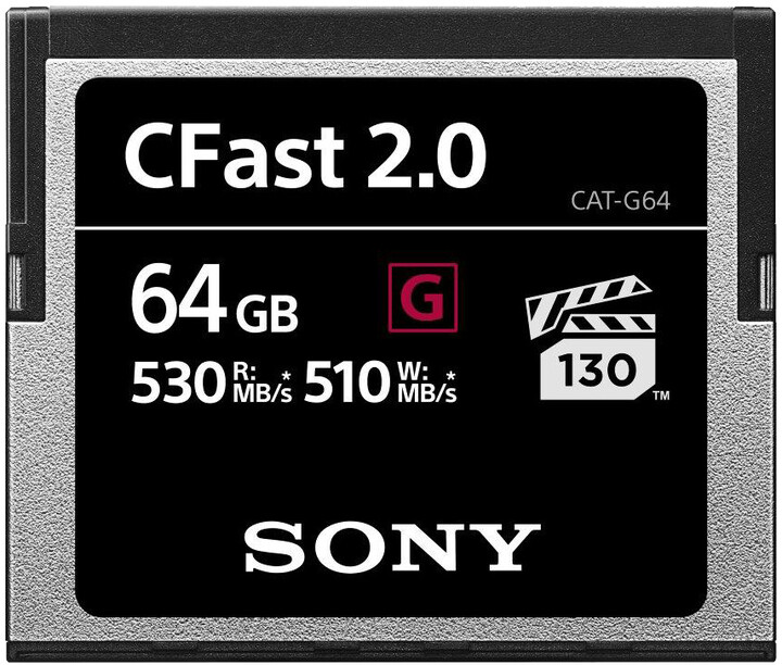 Sony G Series CFast 2.0 - 64GB
