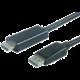 PremiumCord DisplayPort 1.2 na HDMI 2.0 kabel pro rozlišení 4Kx2K@60Hz, 1m