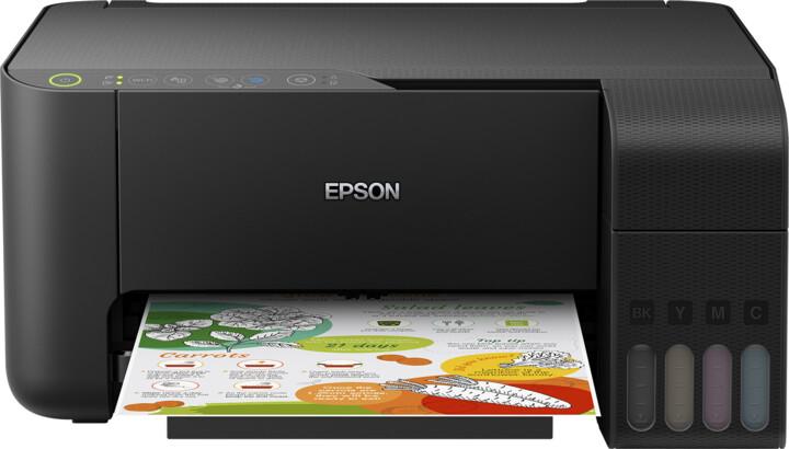 Epson L3150, tankový systém