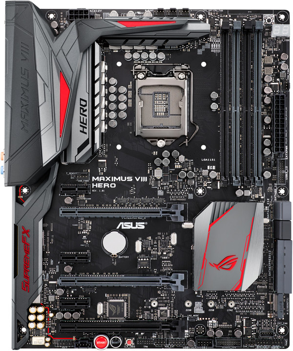 ASUS MAXIMUS VIII HERO - Intel Z170
