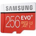 Samsung Micro SDXC EVO+ 256GB UHS-I U3 + SD adaptér