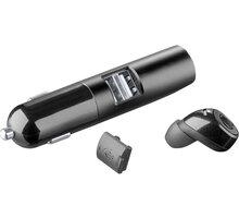 CellularLine Mini CellularLine Grace Bluetooth headset s nabíjecí základnou, černá - BTCARMINIK