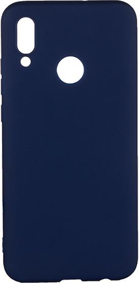 EPICO pružný plastový kryt pro Honor 10 Lite SILK MATT, tmavě modrá