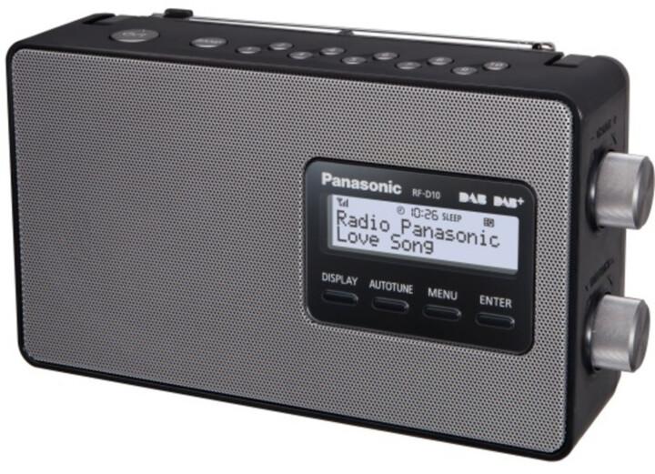 Panasonic RF-D30BTEG-K, černá