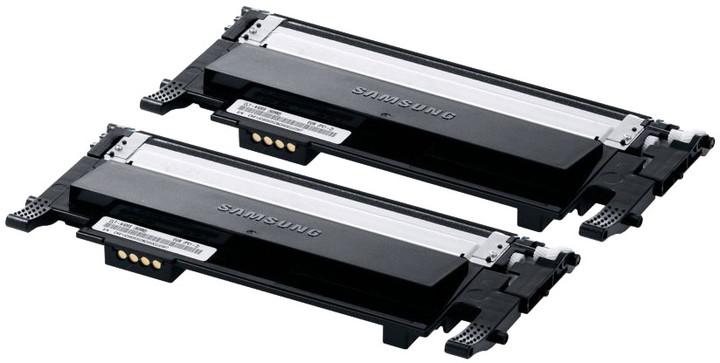 Samsung CLT-P406B/ELS, Toner Twin Pack, černá
