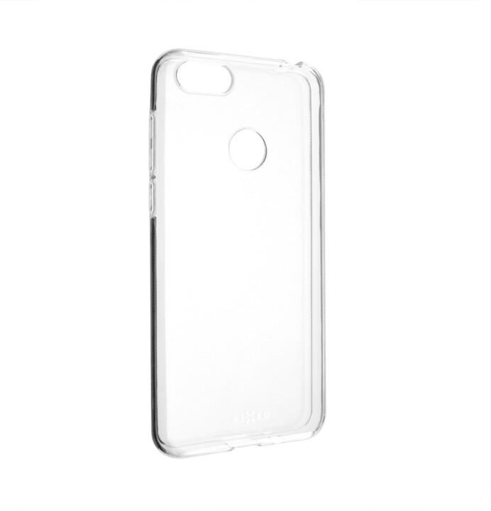 FIXED Skin ultratenké TPU gelové pouzdro pro Motorola Moto E6 Play, čiré