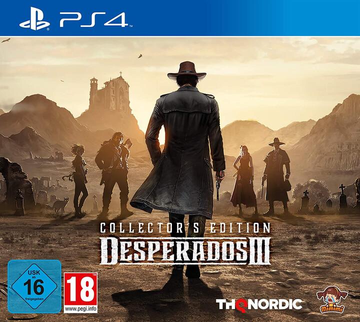 Desperados III - Collectors Edition (PS4)