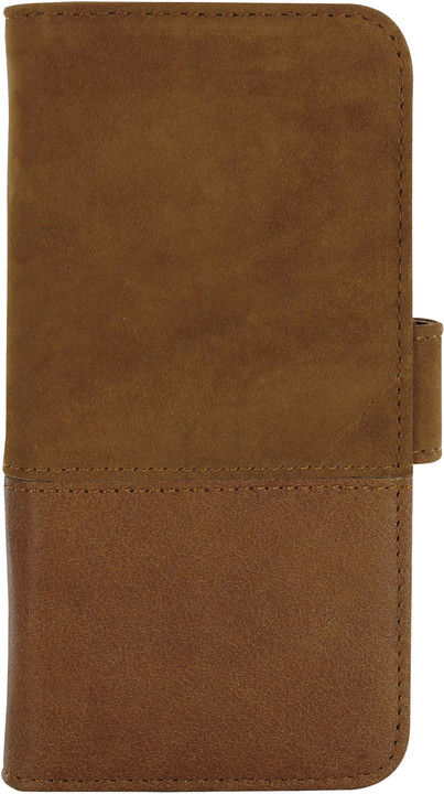 Holdit Wallet Case Apple iPhone 6s,7,8 - Brown Leather/Suede