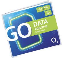 O2 Předplacená karta GO DATA zdarma - SMALLGO.50VNA45A