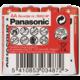 Panasonic baterie R6 4S AA Red zn