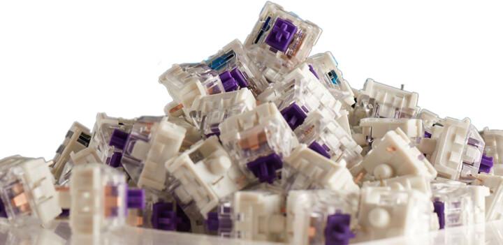 Glorious mechanické spínače, Kailh Pro Purple, 120ks