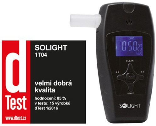 Solight 1T04, alkohol tester