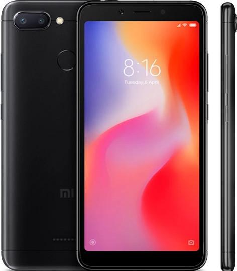 Xiaomi Redmi 6 Dual, 3GB/32GB, černý