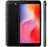 Xiaomi Redmi 6 Dual, 3GB/32GB, černý  + 500Kč voucher na ekosystém Xiaomi