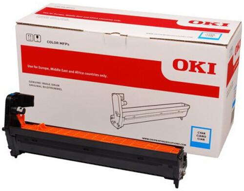 OKI 46507307, (30000 str.), cyan