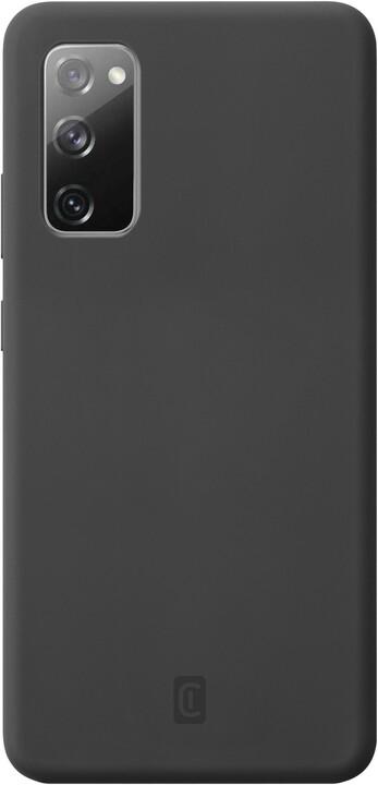 CellularLine silikonový kryt Sensation pro Samsung Galaxy S20 FE, černá