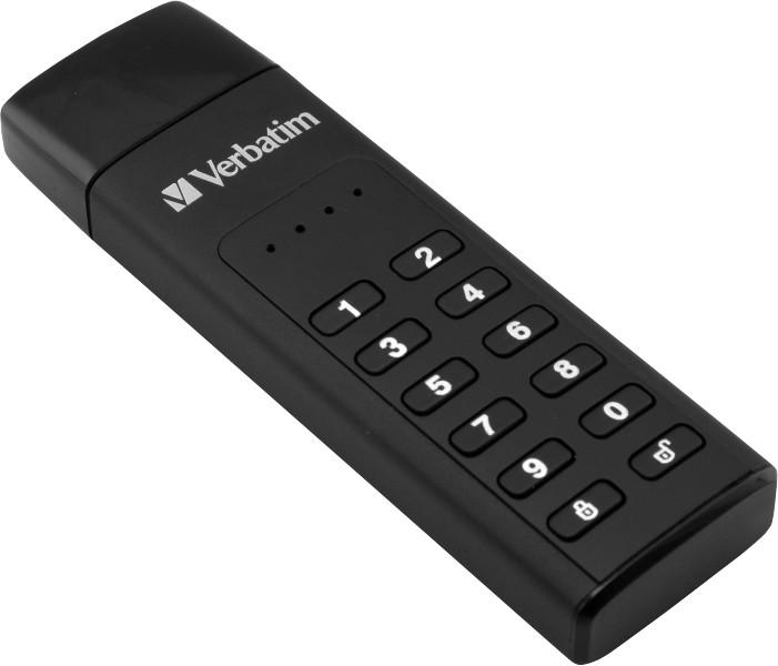Verbatim Keypad Secure Drive, 128GB, černá