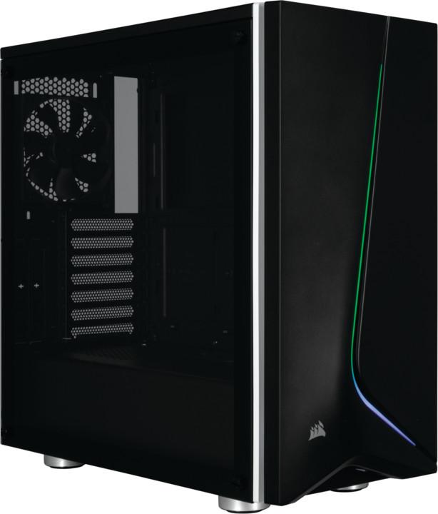 Corsair Carbide Series Spec-06 RGB, Tempered Glass, černá
