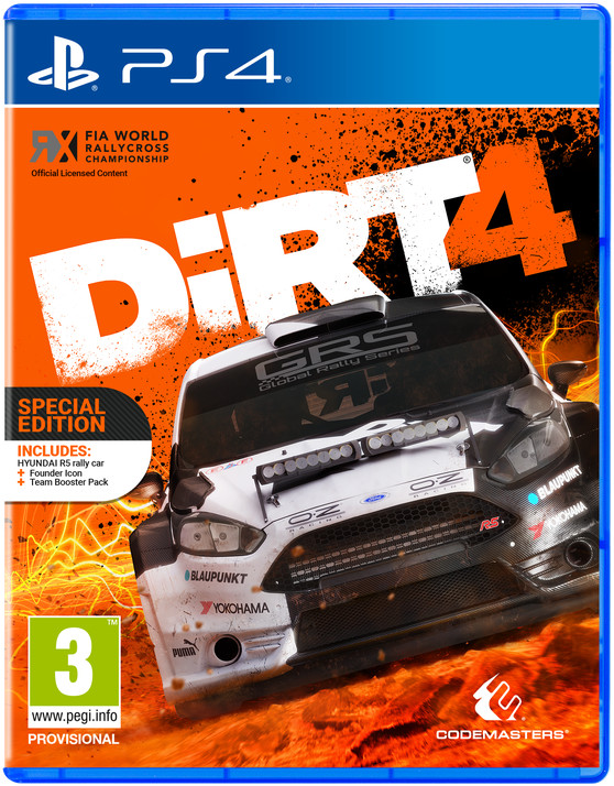 DiRT 4 - Special Edition (PS4)
