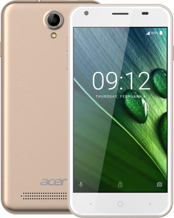 Acer Liquid Z6 LTE - 8GB, zlatá