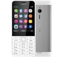 Nokia 230, Single Sim, stříbrná - A00027220