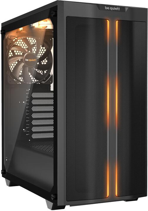 Be quiet! Pure Base 500DX, okno, černá