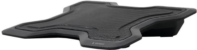 """Gembird podstavec pod notebook, pro notebooky do 15.6"""", 120mm větrák, černá"""