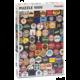 Puzzle Piatnik Pivní tácky, 1000 dílků