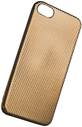 Forever silikonové (TPU) pouzdro pro Samsung Galaxy S6, carbon/zlatá