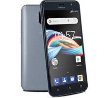 """myPhone FUN 6 lite, 8GB, šedá  + DC pouzdro MIX 5"""" v hodnotě 199 Kč"""