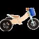 Odrážedlo Small Foot - Maxi 2v1, dřevěné, modré