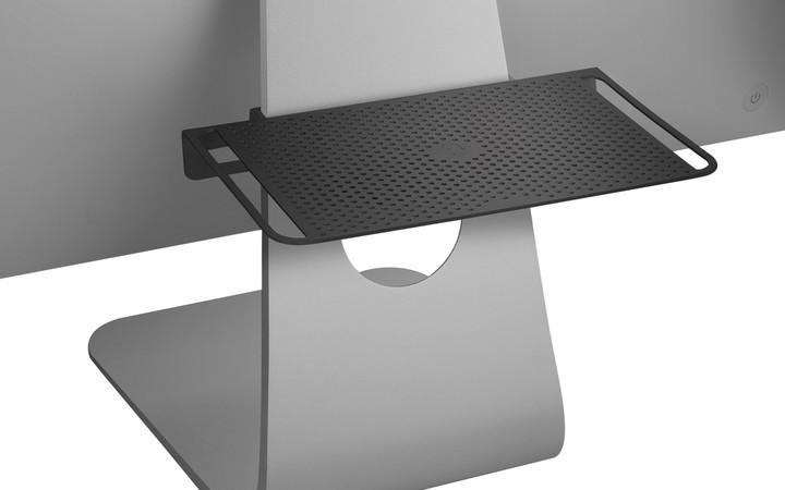 TwelveSouth BackPack 3: adjustable shelf for iMac, Cinema Display - black