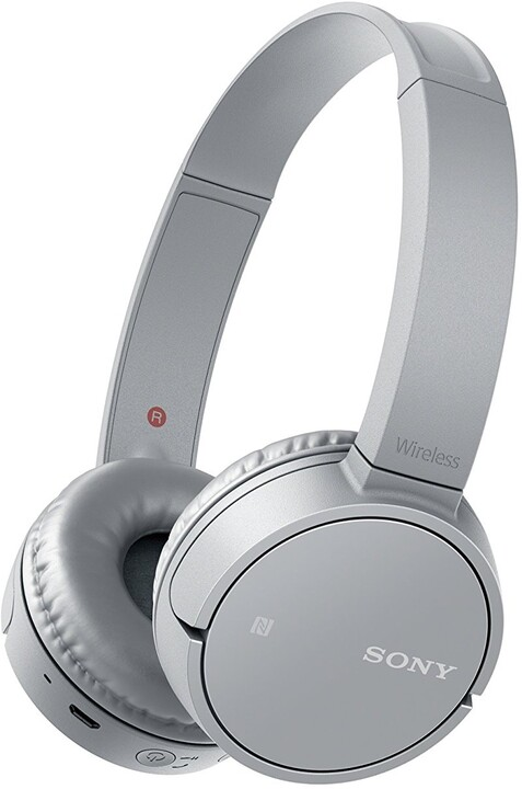 Sony MDR-ZX220BT, šedá