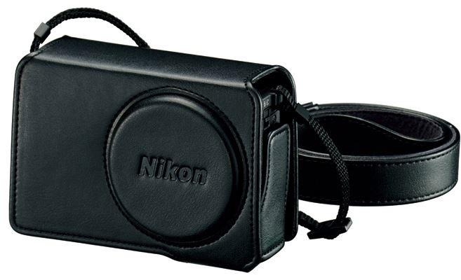 Nikon CS-CP4-7 kožené pouzdro pro P340 černá