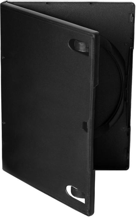 Cover It box:1 DVD 14mm černý - karton 100ks