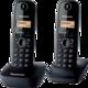 Panasonic KX-TGB212FXB, černá, TwinPack  + Voucher až na 3 měsíce HBO GO jako dárek (max 1 ks na objednávku)