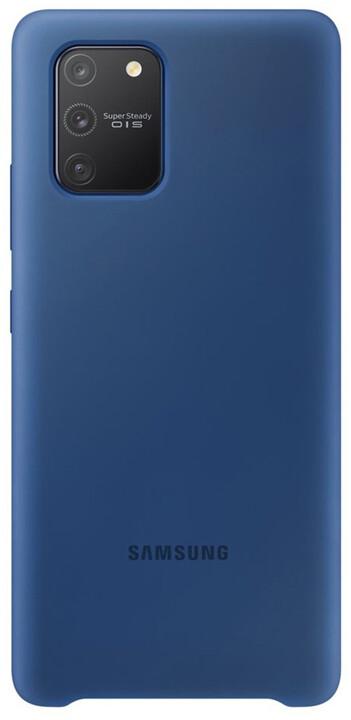 Samsung silikonový zadný kryt pro Samsung Galaxy S10 Lite, modrá