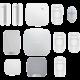 BEDO Ajax Můj dům, můj hrad, bílá  + BEDO Ajax LeakProtect - Bezdrátový detektor zaplavení, bílá + BEDO Ajax SpaceControl - Bezdrátový dálkový ovladač, černý