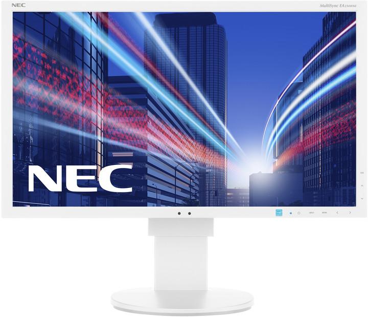 """NEC MultiSync EA234WMi, stříbrný - LED monitor 23"""""""