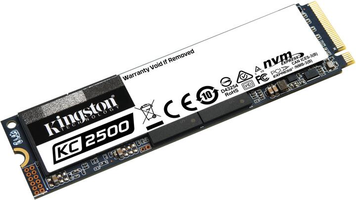 Kingston KC2500, M.2 - 2TB