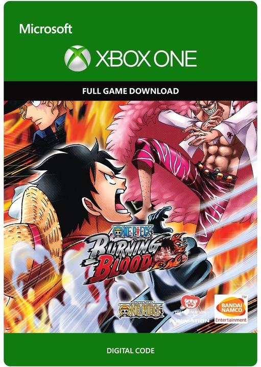 One Piece Burning Blood (Xbox ONE) - elektronicky