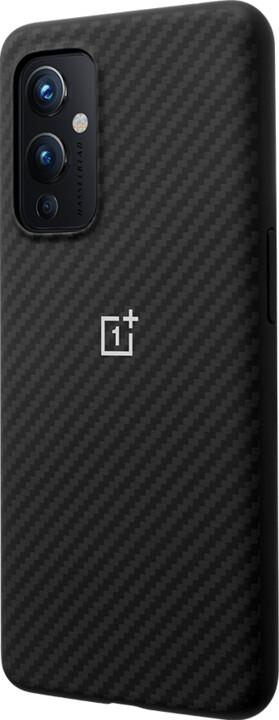 OnePlus ochranný kryt Karbon pro OnePlus 9, černá