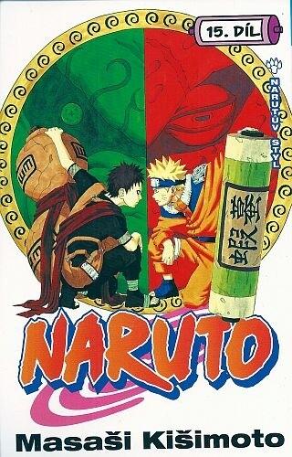 Komiks Naruto: Narutův styl, 15.díl, manga