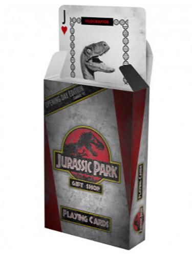 Hrací karty Jurassic Park