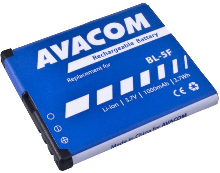 Avacom baterie do mobilu Nokia N95/E65, 1000mAh, Li-Ion