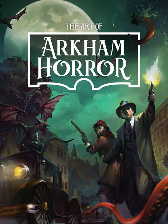 Kniha The Art of Arkham Horror