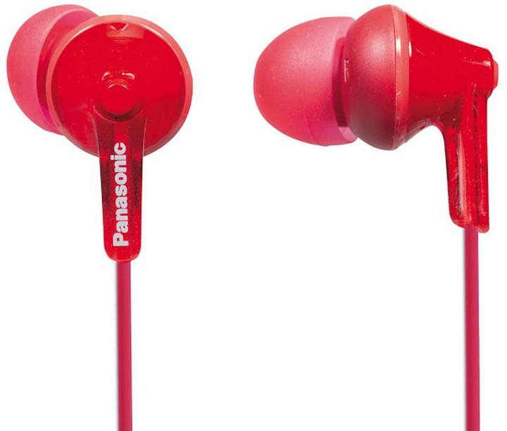 Panasonic RP-HJE125E-R, červená