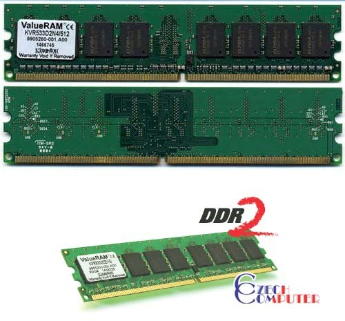 Kingston DIMM 1024MB DDR II 533MHz Dual Channel Kit CL4